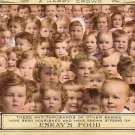 Thousands of Babies Fed Eskay's Food, Advertising Vintage Postcard - 3429