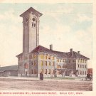 Chicago & North Western Passenger Depot at Sioux City Iowa IA, Vintage Postcard - 3435