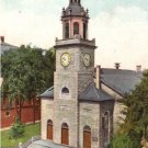First Parish Church in Portland Maine ME, 1910 Vintage Postcard - 3461