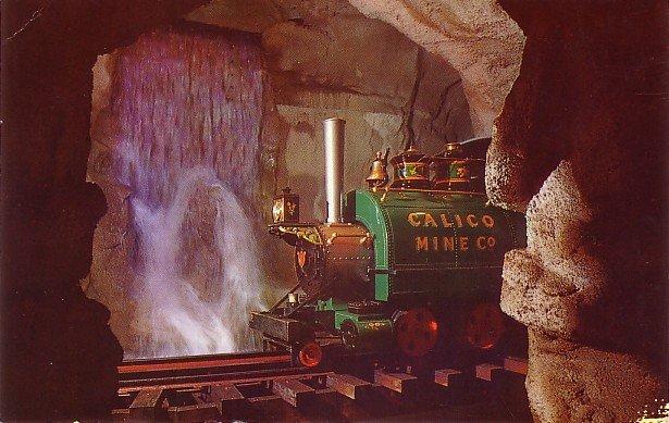 Calico Mine at Knott's Berry Farm Buena Park California CA Chrome Postcard - 3496