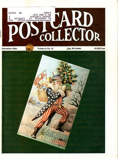 December 1984 Postcard Collector Magazine Krause Publications, Inc.