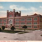 The Boys High School on Canal Street in New Orleans Louisiana LA, 1917 Vintage Postcard - 3501