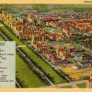 University of Chicago Illinois IL, 1938 Curt Teich Linen Postcard - 3502