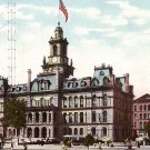 City Hall in Detroit Michigan MI, Vintage Postcard - 3503