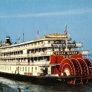 S.S. Delta Queen Mighty Sternwheeler on the Mississippi, Transportation Chrome Postcard - 3519