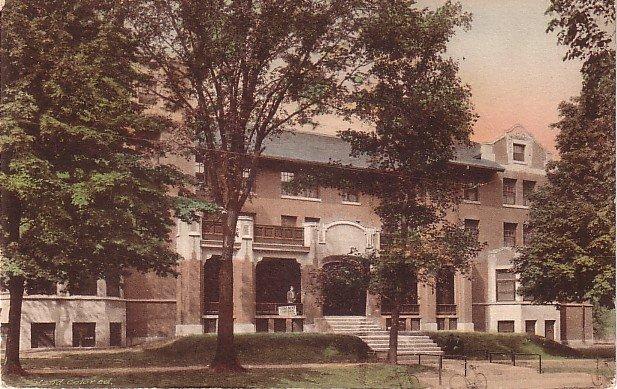 Y.M.C.A. in Champaign Illinois IL, Hand Colored Vintage Postcard - 3529