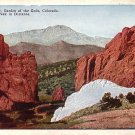 Gateway of the Garden of Gods Park in Colorado CO, Vintage Postcard - 3550
