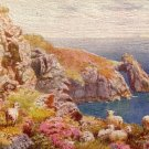 Artist Signed by H.B. Wimbush, The Natural Arch in Torquay UK, Tuck Vintage Postcard - 3577