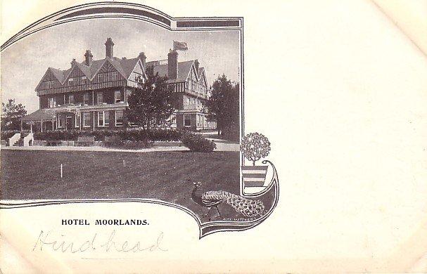Hotel Moorlands, United Kingdom Vintage Postcard - 3583