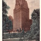 The St. Moritz on the Park Hotel in New York NY, 1940 Vintage Postcard with Metered Postage - 3606