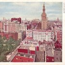 View from Metropolitan Life Insurance Building at New York City NY, Vintage Postcard - 3609