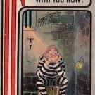 Artist Signed by Carmichael, IF Series Vintage Postcard with Prisoner - 3640