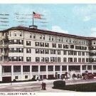 Bristol Hotel at Asbury Park New Jersey NJ, 1921 Vintage Postcard - 3689