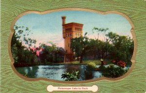 Picturesque Lake by Bach, Vintage Postcard - 3732