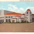 Municipal Auditorium in San Antonio Texas TX, Vintage Postcard - 3747