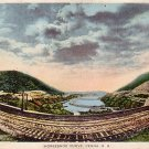 Horseshoe Curve belonging to the Pennsylvania Railroad, Vintage Postcard - 3752