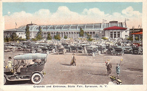 State Fair Grounds in Syracuse New York NY, 1921 Vintage Postcard - 3766