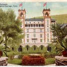 Hotel Colorado in Glenwood Springs Colorado CO, 1927 Vintage Postcard - 3798