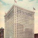 Insurance Exchange Building in Chicago Illinois IL, 1915 Vintage Postcard - 3807