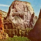 Great White Throne at Zion National Park in Utah UT, Chrome Postcard - 3815