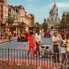 Main Street, U.S.A. at Walt Disney World in Florida, Chrome Postcard - 3821