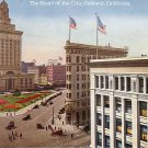 The Heart of the City, Oakland California CA, Vintage Postcard - 3854