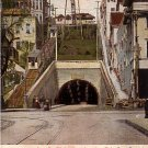 Angel's Flight Incline Railway at Los Angeles California CA, 1906 Vintage Postcard - 3891