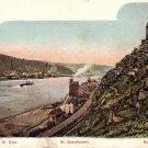 Burg Katz in St. Goarshausen Germany Vintage Postcard - 3893
