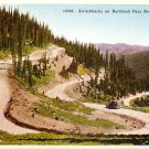Switchbacks on Berthoud Pass Highway in Colorado CO Vintage Postcard - 3997