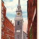 Old North Church in Boston Massachusetts MA, Vintage Postcard - 4008
