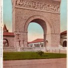 Memorial Arch at Leland Stanford Jr University in California CA, Vintage Postcard - 3913