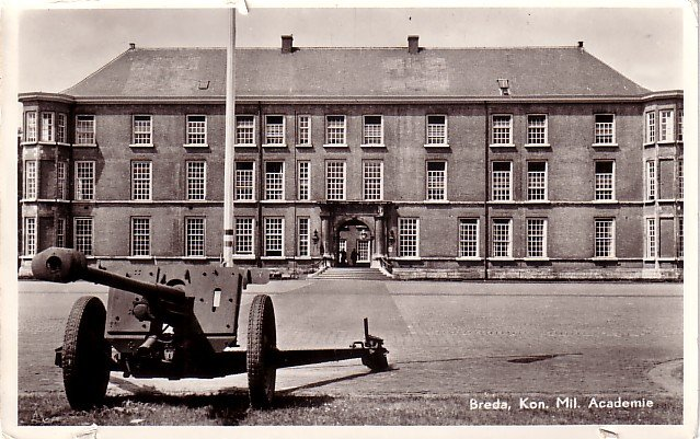 Breda, Kon. Mil. Academie in the Netherlands, Real Photo Post Card RPPC - 3930