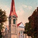 Central Methodist Church in Stockton California CA, Edward H Mitchell 1910 Vintage Postcard - M0074
