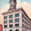 Santa Rosa Bank in California CA, Edward H Mitchell 1910 Vintage Postcard - M0089