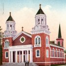 Catholic Church in Healdsburg California CA, Edward H Mitchell 1910 Vintage Postcard - M0095