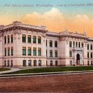 High School in Everett Washington WA, Edward H Mitchell 1910 Vintage Postcard - M0112