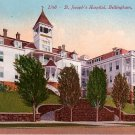 St. Joseph's Hospital in Bellingham Washington WA, Edward H Mitchell 1910 Vintage Postcard - M0113