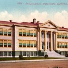Primary School in Watsonville California CA, Edward H Mitchell 1910 Vintage Postcard - M0114