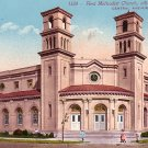 First Methodist Church in Alameda California CA Edward H Mitchell 1911 Vintage Postcard - M0123