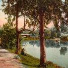 Eastlake Park in Los Angeles, California CA Edward H Mitchell 1911 Vintage Postcard - M0124