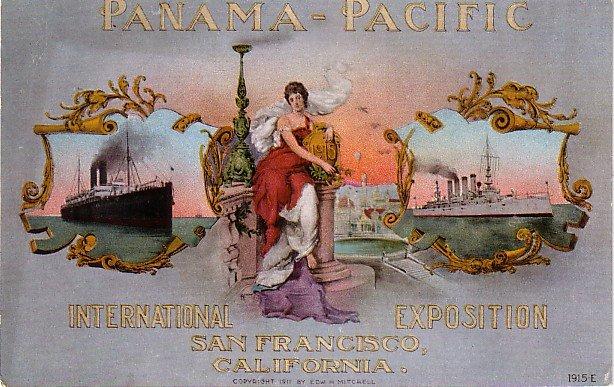 Panama Pacific International Exposition in San Francisco CA, Edward H Mitchell 1915 Postcard - M0125