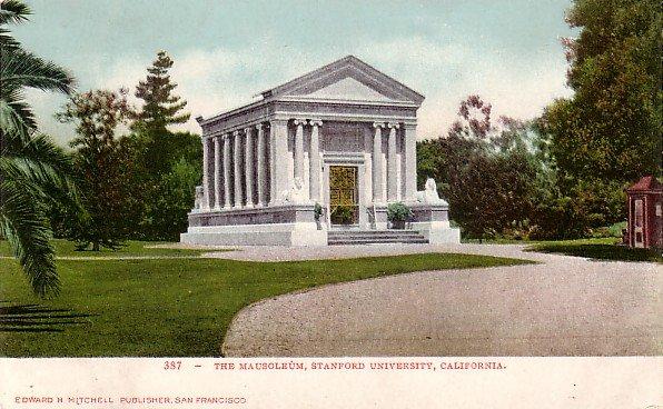 The Mausoleum at Stanford University in California CA Edward H Mitchell 1906 Postcard - M0158