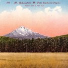 Mt McLaughlin, Mt. Pitt in Southern Oregon OR Edward H Mitchell 1911 Postcard - M0160