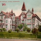 Annie Wright Seminary in Tacoma Washington WA Edward H Mitchell 1908 Postcard - M0163