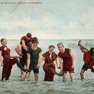 Having Fun in the Surf in Venice California CA Edward H Mitchell 1907 Postcard - M0169