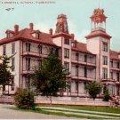 St Peters Hospital in Olympia Washington WA, Edward H Mitchell 1908 Postcard - M0179