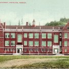 Portland Academy in Oregon OR, Edward H Mitchell 1907 Postcard - M0181