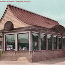Permanent Exhibit Building in Ashland Oregon OR, Edward H Mitchell 1907 Postcard - M0185