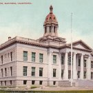 Court House in Martinez California CA, Edward H Mitchell 1908 Postcard - M0192
