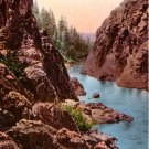 Hell Gate of Rogue River in Oregon OR Edward H Mitchell 1911 Vintage Postcard - M0211